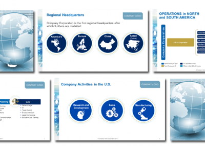 PPT Design including Icons and Infographics