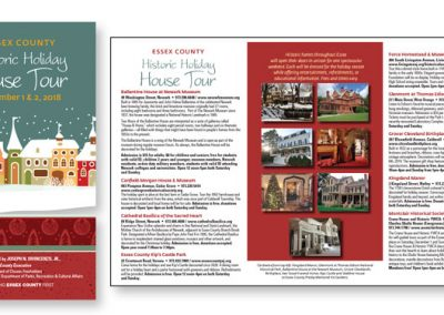 Historic NJ House Tour Brochure
